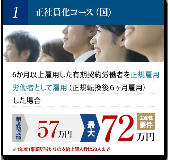 正社員化コース(国)